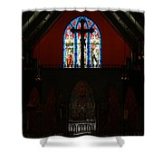 Our Lady Of The Atonement Shower Curtain