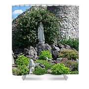 Our Lady Of The Woods Shrine Lll Shower Curtain