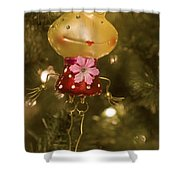 Our Miss Froggy Shower Curtain
