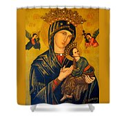 Our Mother Of Perpetual Help Rome Shower Curtain