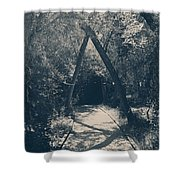 Our Paths Will Cross Again Shower Curtain