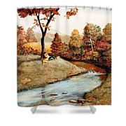 Our Secret Place Shower Curtain
