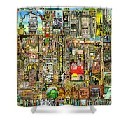 Our Town Shower Curtain