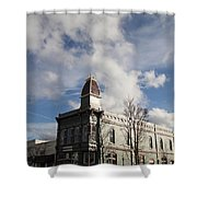 Our Town - Grants Pass In Old Town Shower Curtain