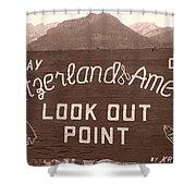 Ouray Colorado Shower Curtain