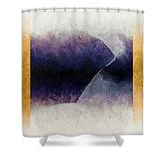 Ouroboros Three Blue, 2010 Shower Curtain