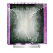 Ouroboros Three Green, 2010 Shower Curtain