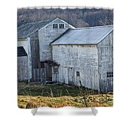 Out Behind The Barn Shower Curtain