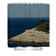 Out Bound Shower Curtain