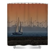 Out For A Sail 2 Shower Curtain