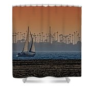Out For A Sail Shower Curtain