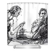 Out For A Tea Shower Curtain