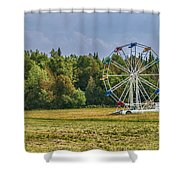 Out In Orangeville Shower Curtain