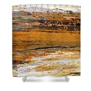 Out In The Fields Shower Curtain