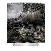 Out Of Steam Shower Curtain