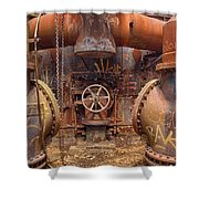 Out Of The Furnace Shower Curtain