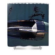 Out Of The Silo Shower Curtain
