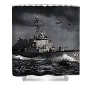 Out Of The Storm Shower Curtain