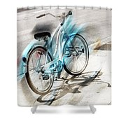 Out On Marches Shower Curtain
