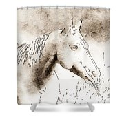 Out To Lunch Shower Curtain