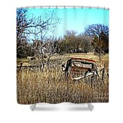 Out To Pasture 3 Shower Curtain