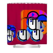 Outback Convoy Shower Curtain