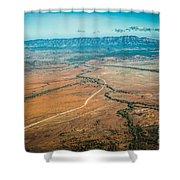 Outback Flinders Ranges Shower Curtain