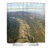 Outback Mountains Shower Curtain
