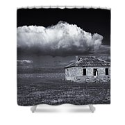 Outback Ruin Shower Curtain
