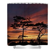 Outer Banks Sunset Shower Curtain