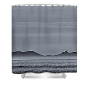Outer Hebrides Shower Curtain