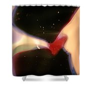 Outer Space Man Shower Curtain