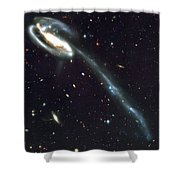 Outer Space Three One Eight Shower Curtain