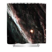 Outer Space Three One Six Shower Curtain