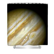 Outer Space Three Zero Six Shower Curtain