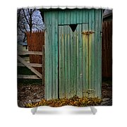 Outhouse - 6 Shower Curtain