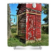 Outhouse 9 Shower Curtain