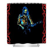 Outlaw Billy Jones Has Been Framed Shower Curtain