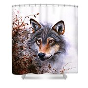 Outlawed Shower Curtain