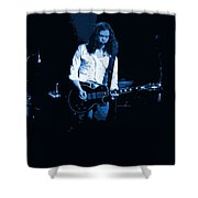 Outlaws #12 Art Blue 2 Shower Curtain