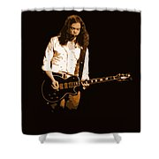 Outlaws #12 Art Colored Shower Curtain