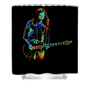 Outlaws #12 Art Cosmic Shower Curtain