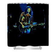 Outlaws #12 Art Psychedelic 2 Shower Curtain
