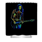 Outlaws #12 Art Psychedelic Shower Curtain
