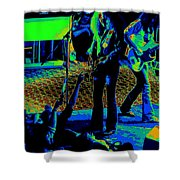 Outlaws #16 Art Cosmic  Shower Curtain