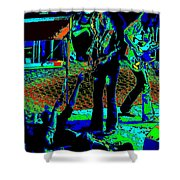 Outlaws #16 Art Psychedelic Shower Curtain