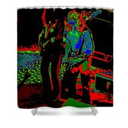 Outlaws #18 Art Psychedelic Shower Curtain