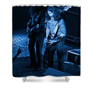 Outlaws #18 Blue Shower Curtain