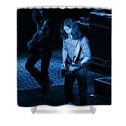 Outlaws #19 Blue Shower Curtain