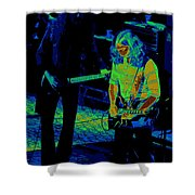 Outlaws #20 Crop 3 Cosmic Shower Curtain